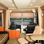 Fully custom interior coaches